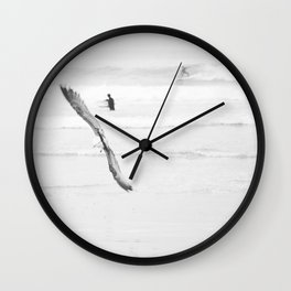 catch a wave VI Wall Clock