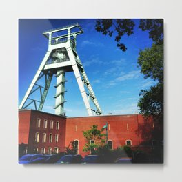 Welcome to the Ruhrgebiet Metal Print