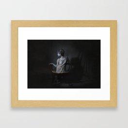 She, as a Ghostly Echo Framed Art Print