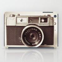 camera iPad Cases featuring Camera by Tuky Waingan