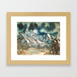 Winter Skies Framed Art Print