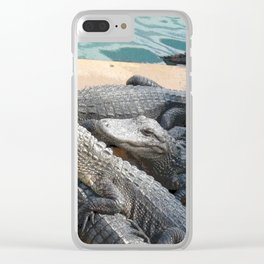 Gator Gang Clear iPhone Case
