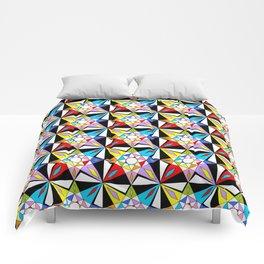 symetric patterns 81-mandala,geometric,rosace,harmony,star,symmetry Comforters