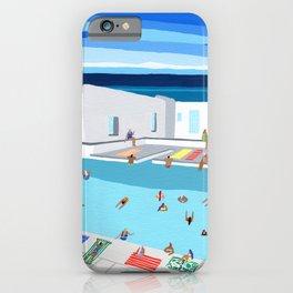 Greek sun iPhone Case