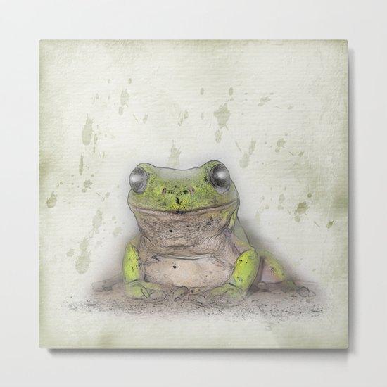 Jeremiah was a bullfrog Metal Print