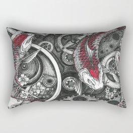 Time is an illusion Rectangular Pillow