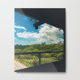Commute Views Metal Print