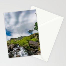 Cwm Idwal Rapids Snowdonia Stationery Cards