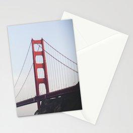Golden Gate at dusk Stationery Cards