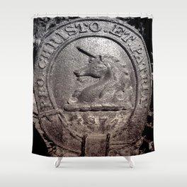 1874 UNICORN Shower Curtain