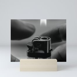 Portrait of a Lighter 1 Mini Art Print