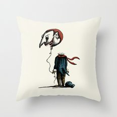 And His Head Swelled with Pride... Throw Pillow
