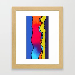CALIFORNIA WAVE Framed Art Print