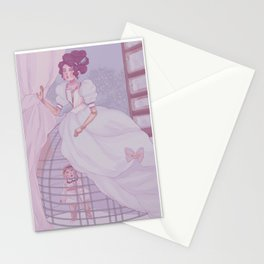 Seen but not heard Stationery Cards