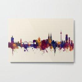 Cologne Germany Skyline Metal Print