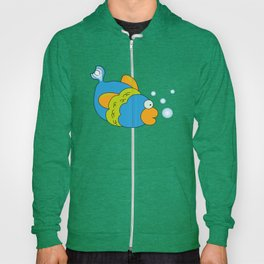Swimming and bubbling Hoody
