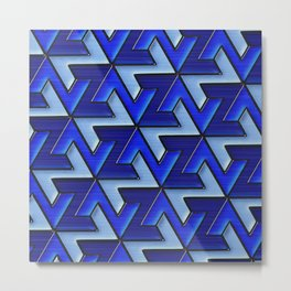Geometrix 110 Metal Print