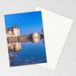 Famous medieval castle Sully sur Loire, Loire valley, France. Stationery Cards
