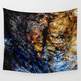Blue Tears Wall Tapestry