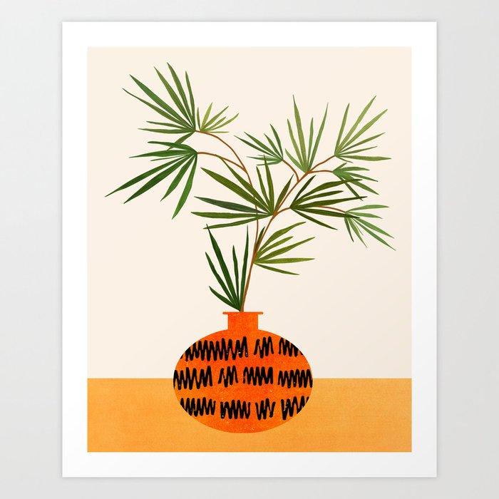 Colorful Indoor Garden / Contemporary Botanical Series Art Print