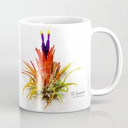 Tillandsia IO Ionantha Air Plant Watercolors Coffee Mug