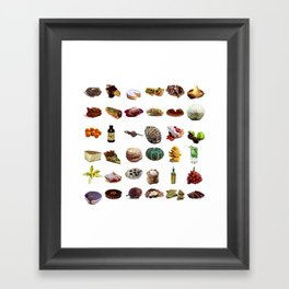 Select Oobites From Year Two, Large Framed Art Print