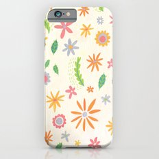 Colourful Daisies Slim Case iPhone 6s