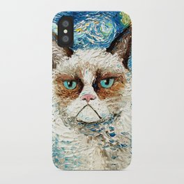 Grumpy Cat Is Still Grumpy iPhone Case