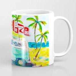 Lollapalooza Plaid Rad Beach Van Coffee Mug
