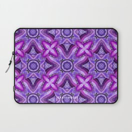 JCrafthouse Agate of Wonder in Royal Purple Laptop Sleeve