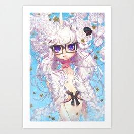 fixation Art Print