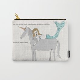 Unicorn and Mermaid Carry-All Pouch