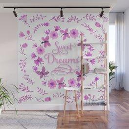 Sweet Dreams - Pink Wall Mural