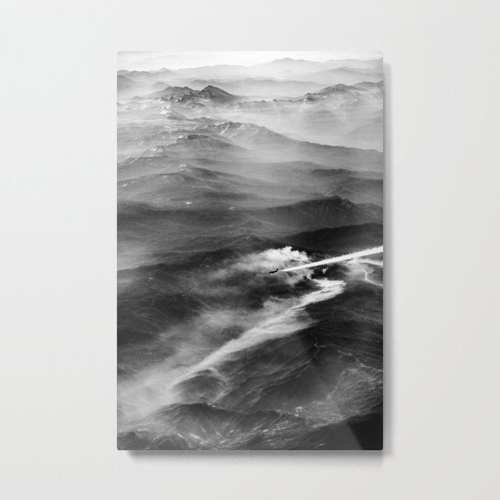 Jet Stream Metal Print