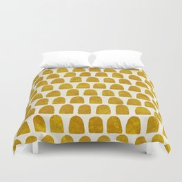 Gold Leaf Duvet Cover