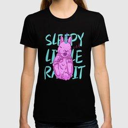 Sleepy little rabbit T-shirt