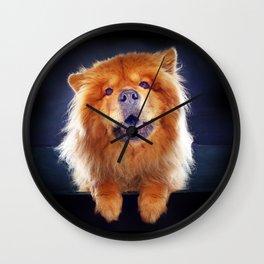Super Pets Series 1 - Super Chow Wall Clock
