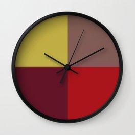 Winter Windowpane Wall Clock