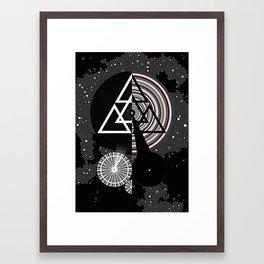 Omega Code Poster Framed Art Print