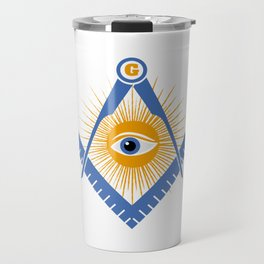 Freemasonry symbol Travel Mug
