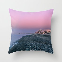 Fisht Olympic Stadium (Football 2018) Throw Pillow