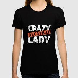 Crazy Alcatraz Lady T-Shirt Funny Penitentiary Prison Tee T-shirt