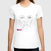 makeup T-shirts featuring makeup/2 by nataliaplata