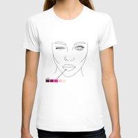 makeup T-shirts featuring makeup/2 by nate