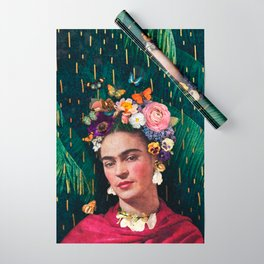 Frida Kahlo :: World Women's Day Wrapping Paper