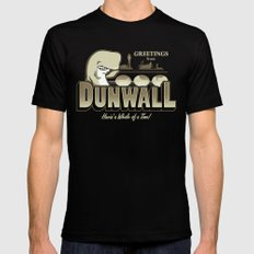 Greetings from Dunwall 2X-LARGE Mens Fitted Tee Black