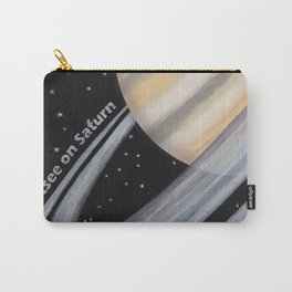 Sightsee On Saturn Carry-All Pouch