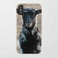 lamb iPhone & iPod Cases featuring Lamb by hyycam