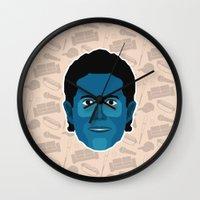 seinfeld Wall Clocks featuring Jerry Seinfeld - Seinfeld by Kuki