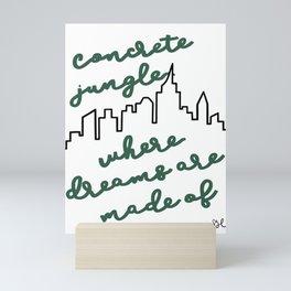 NYC skyline print  Mini Art Print